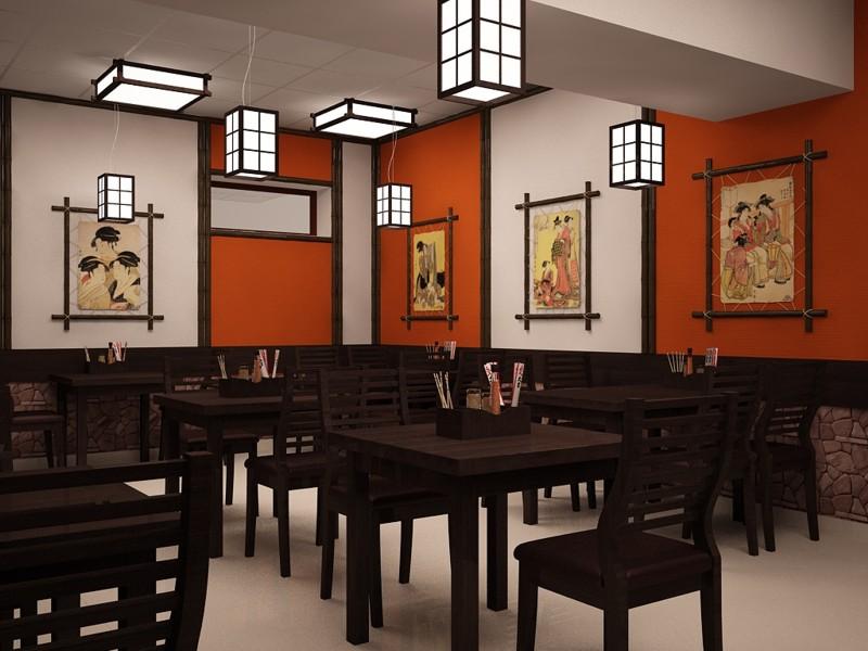 Фото интерьер суши бара