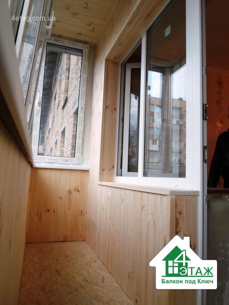 Обшивка балконов - делаем в лучшем качестве недорого!.